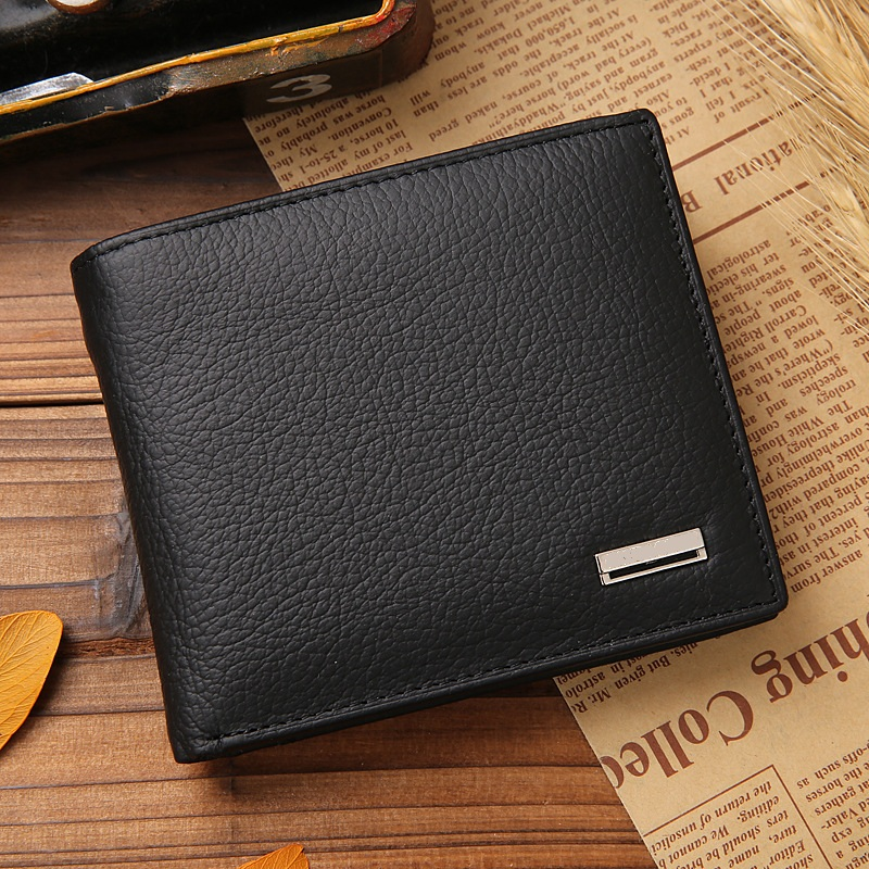 Men-wallets-genuine-leather-purse-short-casual-male-card-holder