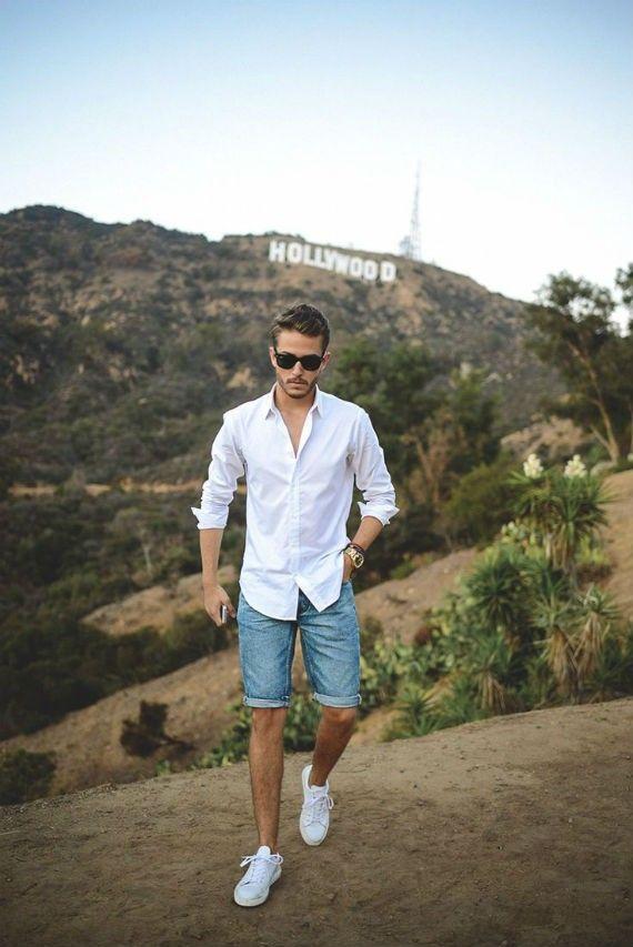 camisa-branca-masculina-reveillon-2018-bermuda-jeans-tenis-branco