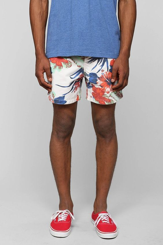 short floral branco resort