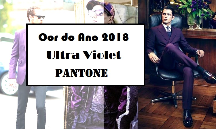 Cor do Ano 2018 Ultra Violet Pantone