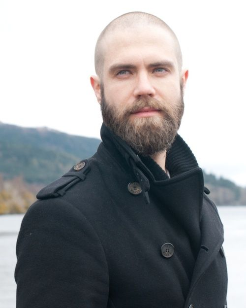 careca com barba