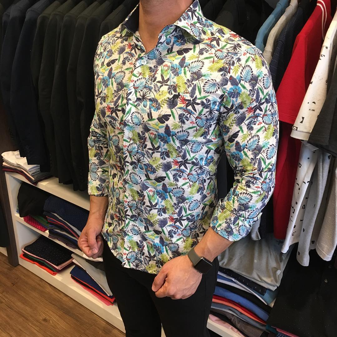 CAMISA ESTAMPADA SALTH