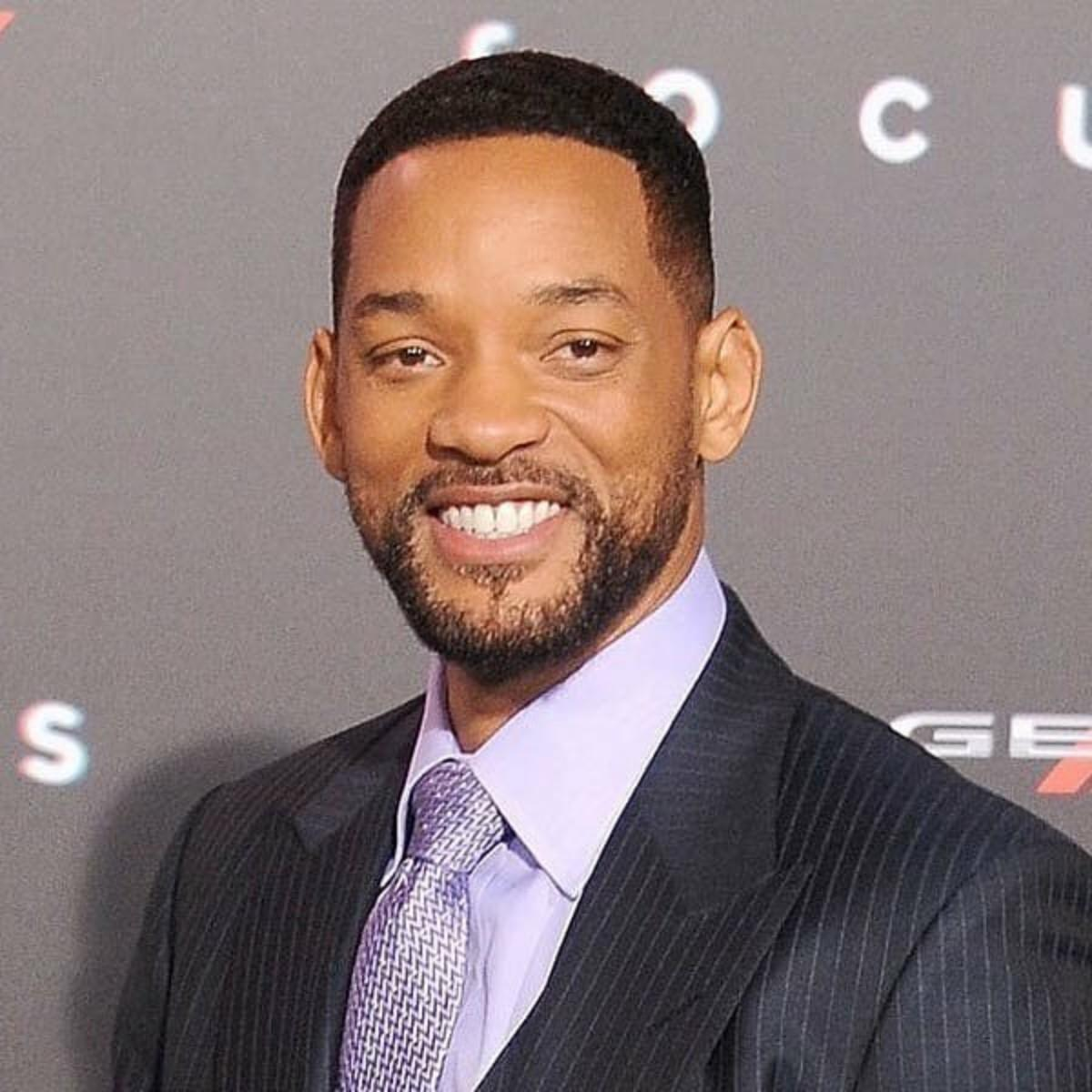 Will Smith cabelo curto natural